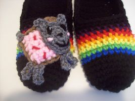 Nyan Slippers by Ohsewrae