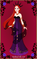 Queen Narissa first look - Star Crystal by ILoveAnimeAndDisney