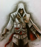 Ezio Auditore by Hybrid-Theory101