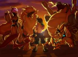Rock the Kanto by Toughset