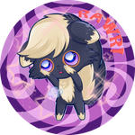 Pokecross Adopt #1 - Skunpurr (CLOSED) by GummySky