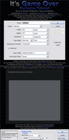 Portolio Template Part 1 by ItsGameOver