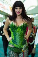Poison Ivy Cosplay Marla Russell SDCC 2014 by wbmstr