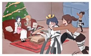 Hungry Christmas by mokuepo