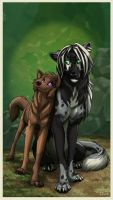 Mara and Antimache by FablePaint