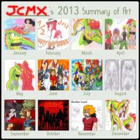 2013 Summary Art Meme by JCMX
