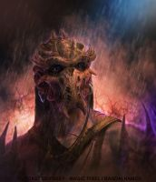 Ancient Mask Purple by LozanoX