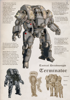 Tactical Dreadnought Terminator Armor by orcbruto