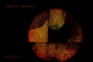 Abstract Spheres Calender (Cover) by gloriagypsy