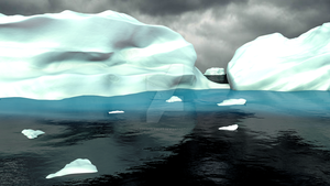 Antarctic Ice by fergoblender