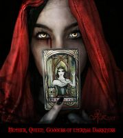 Goddess of eternal Darkness by vampirekingdom