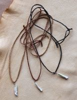 Genuine wolf tooth necklaces - $18 each! by lupagreenwolf