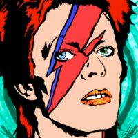 Ziggy Stardust by AsphodelGray