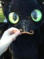 Mustache Toothless by Viperas