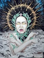 Fall and Risen  One .  .  . ( Dionysus ) by RuvellKhaosArt