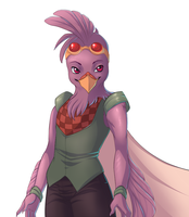 Commission: Starbound Avian 3 by andarix