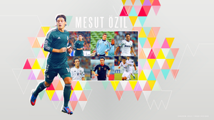 Wallpaper Mesut Ozil 16 by shad-designs