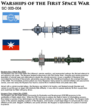 Warships of the First Space War by Another-Eurasian