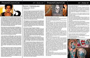 Interview Byron phvx mag by reavel