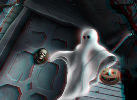 Trick or Treat! 3-D conversion by MVRamsey