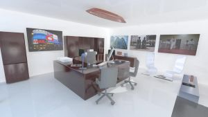 Executive Office Interiors by ManticoreEX