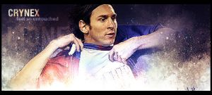 Messi Signage by Crynex