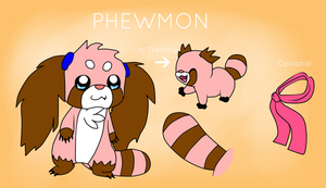 P H E W M O N - Reference sheet by Phewmonsuta