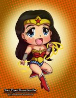 Wonder Woman by TwoTigerMoon