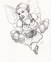 Hildy Fairy .: Commission :. by Janexas