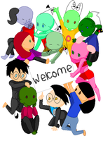 Welcome to our page! by Dib-the-survivor