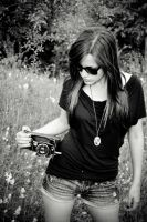 old camera bw by RothermRebeka