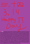 Boredom = Pi day by Sigery97