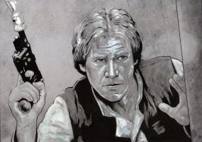 Han Solo by jasonbaroody