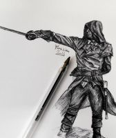 Arno - Assassin's creed Unity by Musiriam