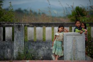 Children in the yard 1 by frankrizzo