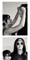 Vincent X Yuffie: Photo Booth by mihoyonagi