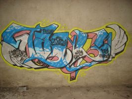 Fly Tang1 on Wall by SF2Gcrew