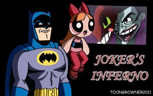 Batman PPG Crossover by toongrowner
