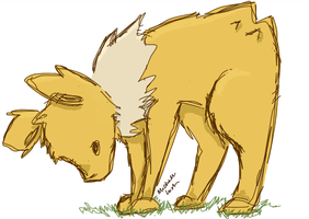 Jolteon by mshul