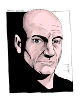 Patrick Stewart_color by StevenWilcox