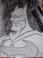 Batman sketch by Granamir30
