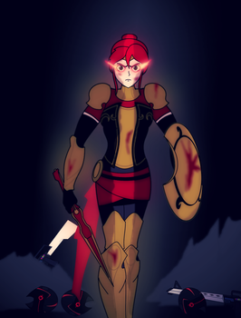 Pyrrha Nikos: Mother and Maiden by Soundwave3591