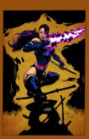 Psylocke Colour by Mr-Frisky
