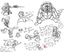 Bioshock fun by PhantasmicDream