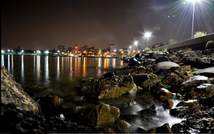 midnight on the shores of Ista by merih6