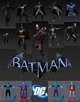 Dc universe 3d models by FuncoHD