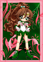 Sailor Jupiter Collab w Sureya by Jessilyna