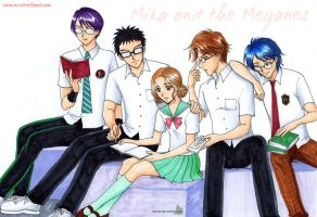 Mika and the Meganes by Alkanet
