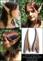 New X-long elf ears by Lluhnij