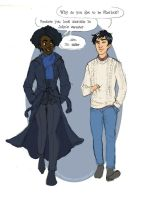 Ken Holmes and Sunny Watson by EmpressFunk